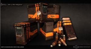 Army Ammo Box, Mil Spec Ammo Box