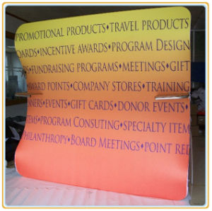 10FT Vertically Curved Fabric Graphics Display Wall pictures & photos