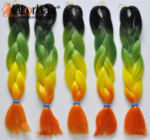 2016 New Arrived Hair Braid 100 Kanekalon Jumbo Braid Synthetic Hair Extension Lbh 057 pictures & photos