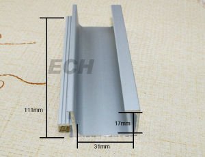 China Supplier Hot Sale Aluminum Channel Profile (L357)