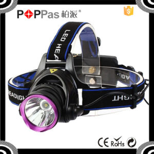 400 Lumen Xml High Power Zoom LED Headlamp Flashlight pictures & photos