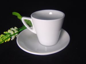 Porcelain Thick-Wall Coffee Cup pictures & photos