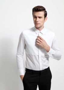 OEM Factory Price White Dress Shirt pictures & photos