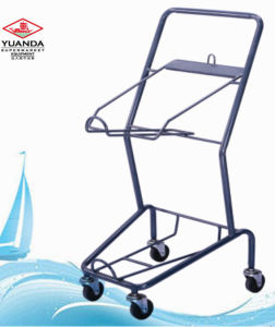 Supermarket Equipment Shopping Basket Hand Trolley (YD-J007) pictures & photos