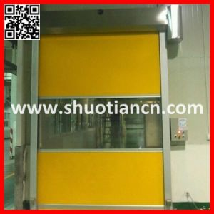 China High Speed Roller Shutter PVC Automatic Door (ST-001) pictures & photos