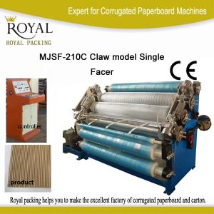 Carton Machine Single Facer for Paperboard Making (MJSF-210C) pictures & photos
