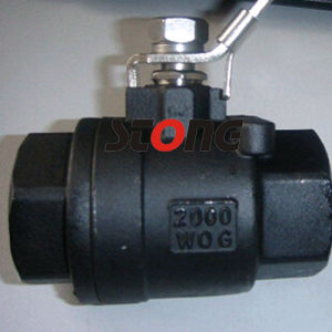 2000wog Stainless Steel 2 Piece Ball Valve pictures & photos