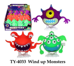 Funny Wind up Monsters Toy pictures & photos