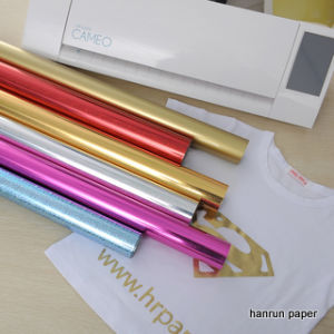 Glitter/Self-Adhesive Reflex Heat Transfer Vinyl Film for Sportswear/Garment pictures & photos