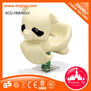 Newest Good Selling Panda Outdoor Playground Spring Rocking Ride pictures & photos
