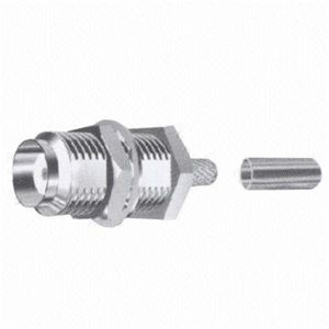 SMA Female Straight Crimp Bulkhead Type RF Connector