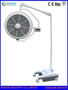 China Cost Hospital Equipment Mobile Emergency LED Surgical Lights pictures & photos