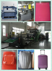 Suitcase ABS/PC Co-Extruison Luggage Sheet Making Machine pictures & photos