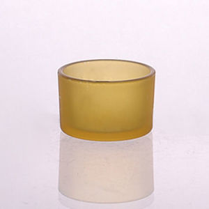 Round Shaped 2oz Tealight Glass Candle Holder pictures & photos