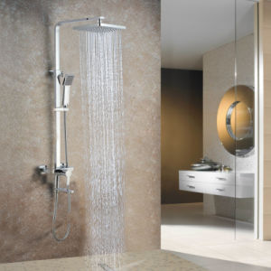 Wall Hanging Solid Brass Rainfall Shower Mixer