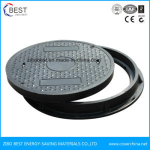 C250 Made in China Round Plastic Sewer Manhole Cover pictures & photos