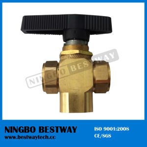 Brass 3 Way Valve with High Quality pictures & photos
