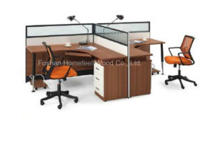2015 New Office Partition Workstation with Metal Leg (HF-CB002) pictures & photos