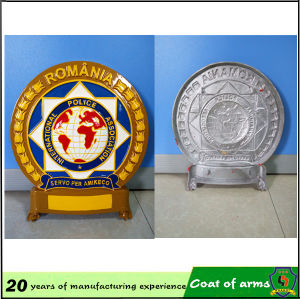 Customized Rwanda 3D Metal Emblem pictures & photos