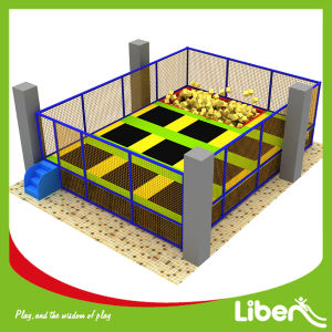 with Foam Pit TUV Certified Square Trampoline pictures & photos