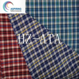 Yarn Dyed Polyester Cotton Fabrics for Man T-Shirt pictures & photos