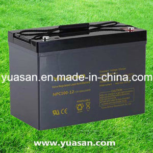 12V100ah Super Lead Acid SMF Deep Cycle Storage Battery--Npc100-12