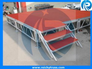 Hot Sale Anti-Slip Stage, , Mobile Stage for Wedding Concert pictures & photos