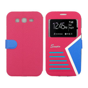 High-Quality Phone Accessories PU Magnetic Awake/Asleep Screen Flip Mobile Case/Cover