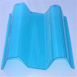 Polycarbonate Corrugated Plastic Sheet pictures & photos