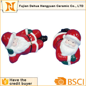 Ceramic Santa Clause for Christams Decoration pictures & photos