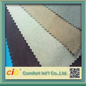 Polyester Microfiber Suede for Furniture Sofa and Chair pictures & photos