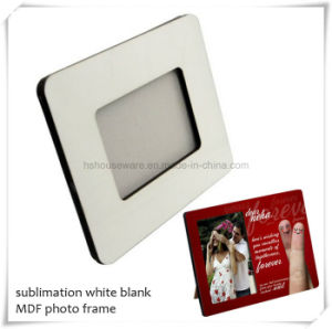 "Top Quality 6mm 8*10"" Sublimation MDF Blank Photo Frame pictures & photos"