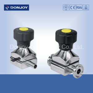 Mini Manual Hygienic Diaphragm Valve with Forging Body pictures & photos