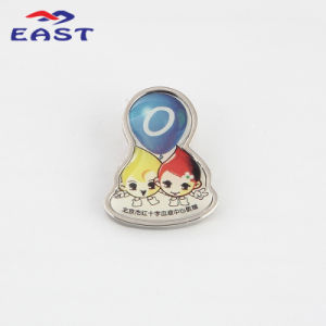 Promotional Epoxy Full Color Metal Lapel Pin pictures & photos