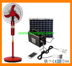 50W Portable Solar Power System for Stand Fan pictures & photos