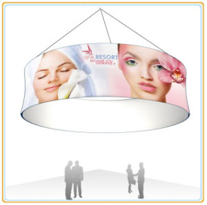 Stretch Tension Fabric Hanging Banner with Custom Printing pictures & photos