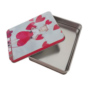Rectangle Shaped Metal Tin Packging for Packing Gift Box pictures & photos
