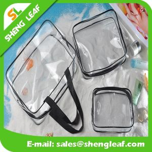Popular Clear PVC Fashion Zip Travel Toiletry Wash Cosmetic Bag pictures & photos