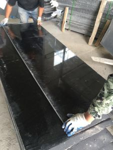 Wholesale Chinese New Shanxi Absolute Black Granite pictures & photos