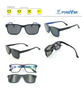 F151115 New Design Ultrathin Magnetic Sunglasses&Reader&Optical Glasses pictures & photos