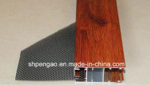 Compact Practical Wood-Grain Aluminum Profile