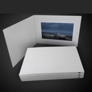 7inch DIY Advertising Video Card pictures & photos