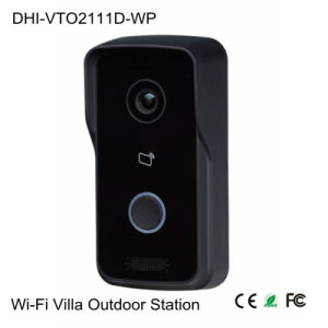 1MP Wi-Fi Video Intercom (VTO2111D-WP) pictures & photos