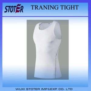 Men′s Dry Fit Training Sports T-Shirt Compression Tights Top pictures & photos