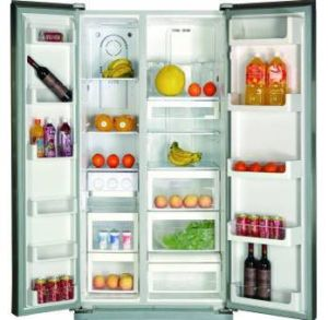 Side by Side Refrigerator 482 Litre pictures & photos
