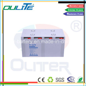 Deep Cycel AGM Battery 2V3000ah with 3 Years Warranty pictures & photos