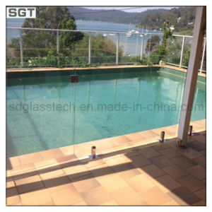 15mm Ultra Clear Tempered Safety Glass for Glass Fencing pictures & photos