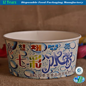 Customed Paper Bowl in Highlight Printing pictures & photos