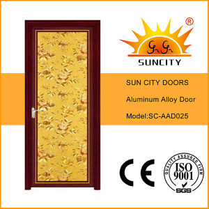 Top Sale Low Price Single Aluminum Alloy Doors (SC-AAD025) pictures & photos