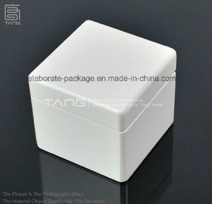 White Packing Box with LED Light Hardwood Jewellry Box pictures & photos